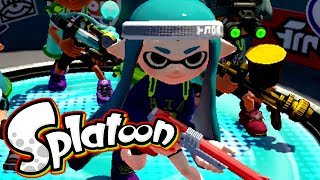 Splatoon - May the Best Squid Team Win [Turf Wars] - Wii U Gameplay