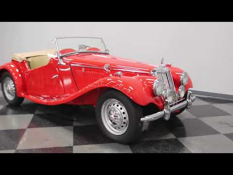Video of Classic '54 MG TF Offered by Streetside Classics - Nashville - M9UA