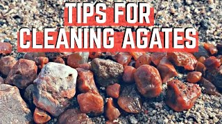 How To CLEAN Your Agates And Other Treasures! Easy!!