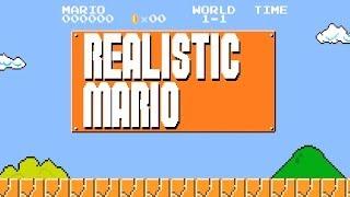 Realistic Mario: Brick Block