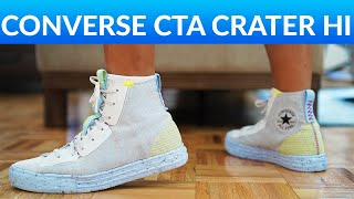 Crater Hi Converse Chuck Taylor All Star - Review And On-feet