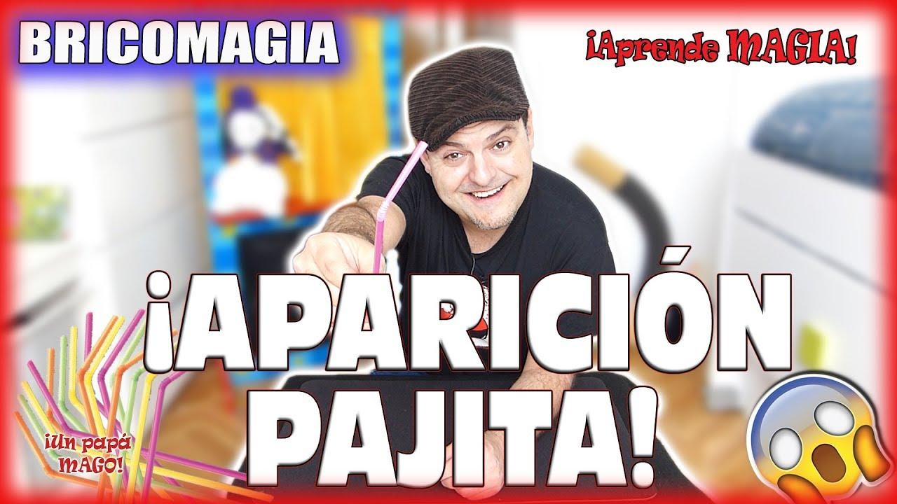 TRUCO DE MAGIA | APARICIÓN DE PAJITA | APRENDE MAGIA | BRICOMAGIA | Is Family Friendly