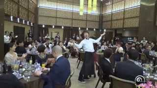 "Flashmob surprise wedding フラッシュモブ サプライズ 披露宴 Hannah Montana "" You'll Always Find Your Way Back Home """
