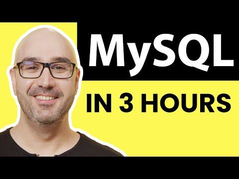 MySQL Tutorial for Beginners [Full Course] - YouTube