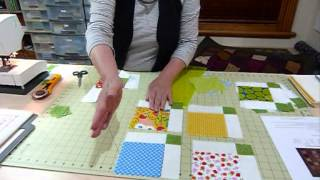 """How to Simply Sash 5"""" Squares - Quilting Tips & Techniques 054"""