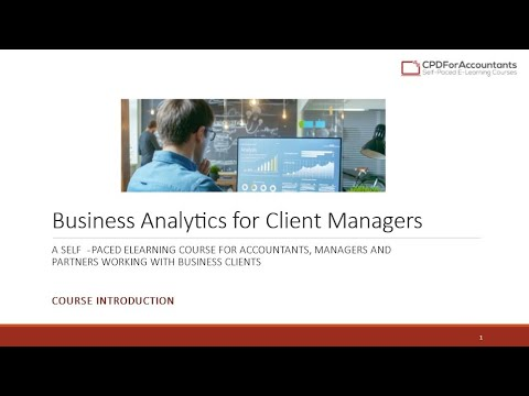 Business Analytics for Client Managers – From Accountant to Analyst and Advisor