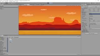 Курс по созданию простой 2d игры на Unity - Бесконечный фон
