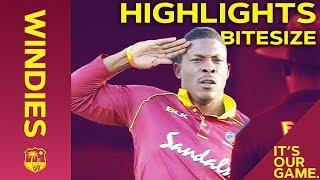 Windies vs England 1st T20I 2019   Bitesize Highlights