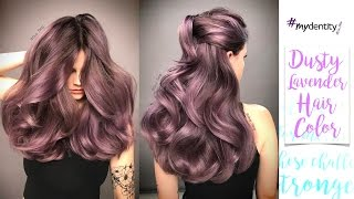 Dusty Lavender Hair Color