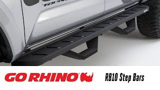 In the Garage™ with Total Truck Centers™: Go Rhino RB10 Step Bars