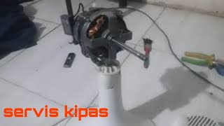 Cara Memperbaiki Kipas Angin Yang Putarannya Terbalik видео