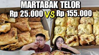 Download Video Martabak Telor Rp 25.000 Vs Rp 155.000 !!! MP3 3GP MP4