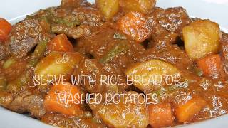 EASY BEEF STEW | HOW TO MAKE THE BEST BEEF STEW | EASIEST BEEF STEW RECIPE
