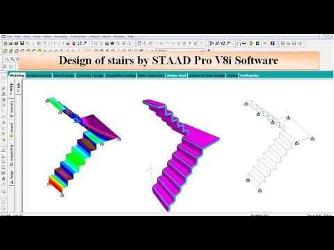 Phần mềm STAAD Pro 3D