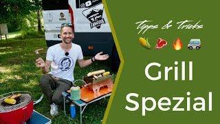 Camping Grill - Das sind meine Favoriten im Wohnmobil