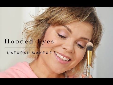 Natural Makeup For Hooded Eyes - Great For Aging Eyes!