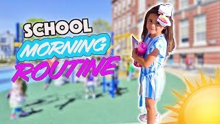 AVA'S NEW MORNING ROUTINE FOR SCHOOL!!! (GET READY WITH ME!)