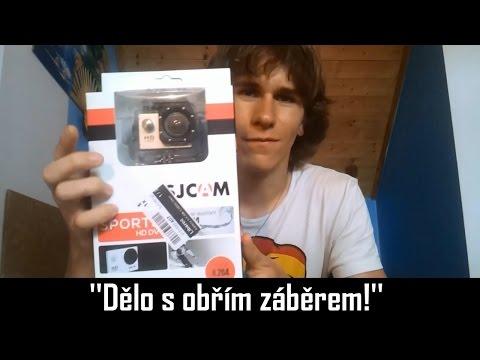 Unboxing nové kamery / SJCAM SJ4000 [FullHD]