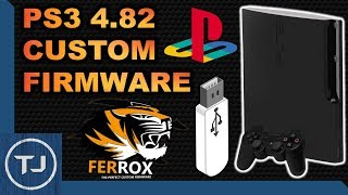 PS3 4.82 Custom Firmware! USB! (Ferrox Jailbreak) [NOR/NAND FAT & SLIM] 2017!