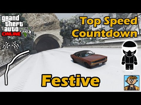 Fastest Festive Surprise 2015 DLC Vehicles - Top Speeds Of Fully Upgraded Cars In GTA Online