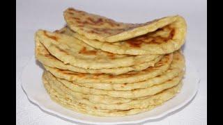 ЛЕПЕШКИ «Домашние из творожного теста» - разлетаются на «ура»! Ароматные и вкусные, вместо хлеба.