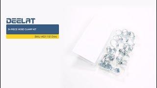 34 Piece Hose Clamp Kit SKU #D1151344