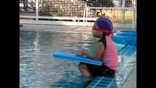 at Baby Frog Swimming School