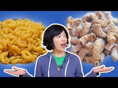 $1 Snacks Made From Pasta – MACARONI Chicharrones