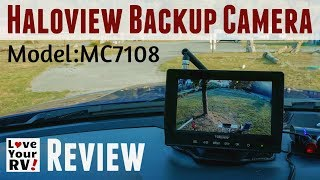 LoveyourRV Observation Camera Review (MC7108)