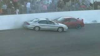 Another Spectator Drag crash!