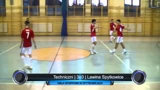 preview picture of video 'Techniczni - Lawina Spytkowice | Podhalańska Liga Futsalu | 11.01.2014'