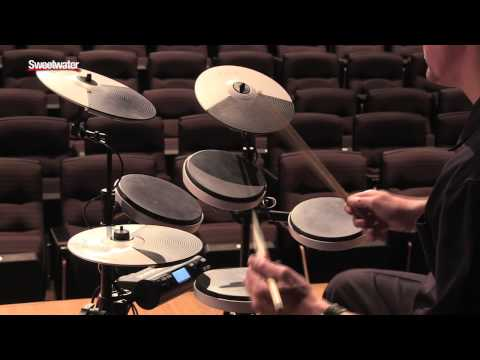 Roland TD-4KP Portable V-Drums Demo - Sweetwater Sound
