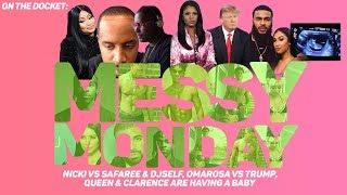 DRAMA ALERT! ! ! VERY MESSY - NICKI vs SAFAREE, QUEEN'S PREGNANT & SHIGGY CHEATED | MESSY MONDAY