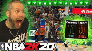 Can I go 12-0 with Zion Williamson? NBA 2K20