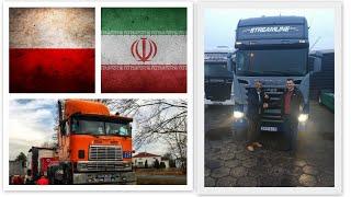 Polacy fundują irańskiemu kierowcy ciężarówkę za 270 tys. zł