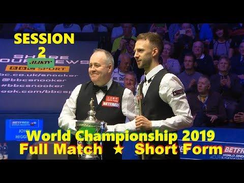 Judd TRUMP vs John HIGGINS FINAL ᴴᴰ S W C 2019 ( Full Match ★ Short Form ) session-2