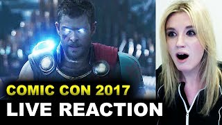 Thor Ragnarok Comic Con Trailer REACTION