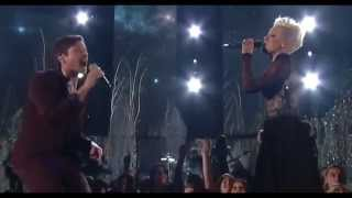 Pink Feat Nate Ruess   Just Give Me A Reason  At The 56th Annual Grammy Awards 2014