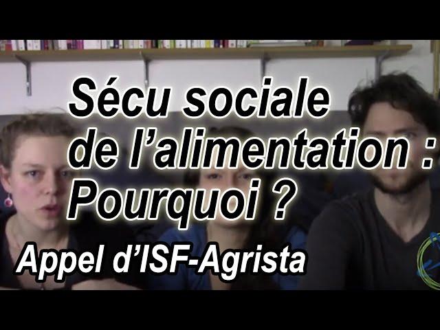 Vidéo, Sécu Sociale Alimentaire - #4 Pour une sécurité sociale alimentaire