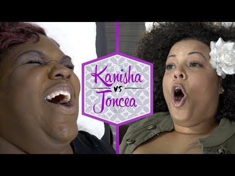 Kanisha vs Joncea | Brazilian Wax Challenge