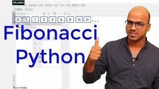 #38 Python Tutorial for Beginners | Fibonacci Sequence