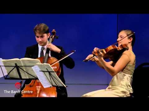 BISQC 2013 - The Dover Quartet - Beethoven Quartet in E minor