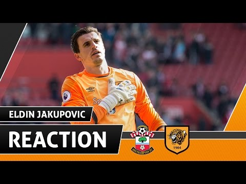 Southampton v The Tigers   Reaction With Eldin Jakupovic   29.04.17