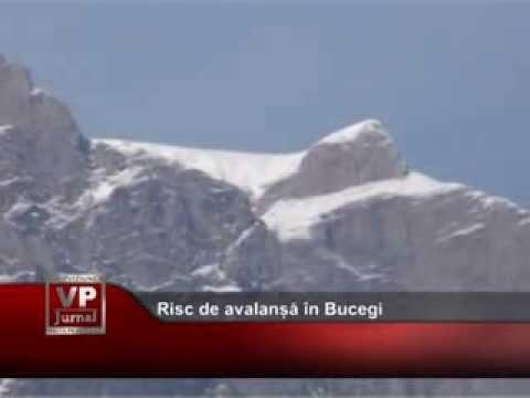 Risc de avalanșă în Bucegi