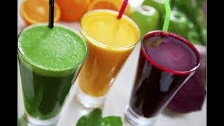 How To  Cleanse Your Colon With 3 Detox Juices