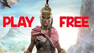 Do you want to play Assassin's Creed Odyssey for free? | Games on Queue | MGN