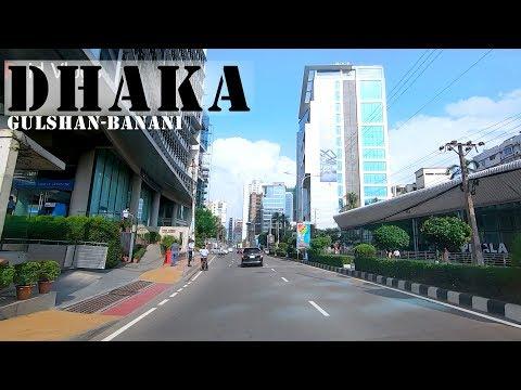 Dhaka City Gulshan 2 - Banani, 4K Video | Road View | Raid Vlogs