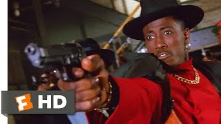 New Jack City (1991) - Cops vs. CMB Scene (7/10)   Movieclips