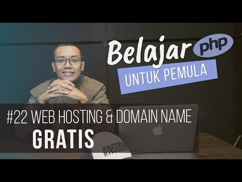 Belajar PHP untuk PEMULA : WEB HOSTING & DOMAIN NAME GRATIS