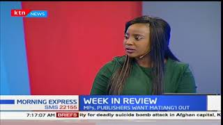 Week in Review:Afred Keter and three others reinstated in house committees